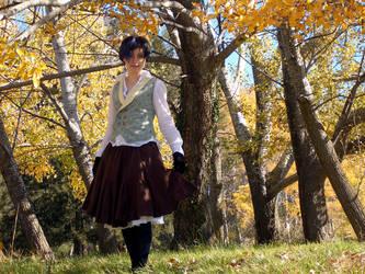 Autumnal Waistcoat by ludicrouslouisa