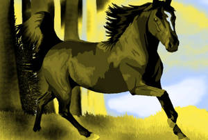 demonic stallion