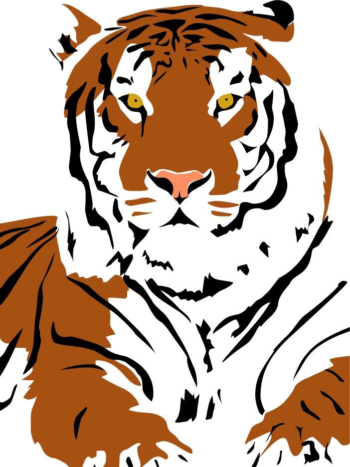 Tiger Pop Art Pop Art Tiger by