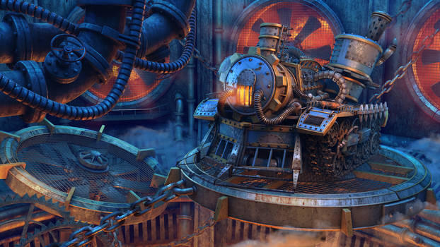 Steam-powered Factory