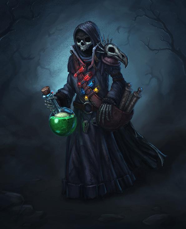 Undead alchemist