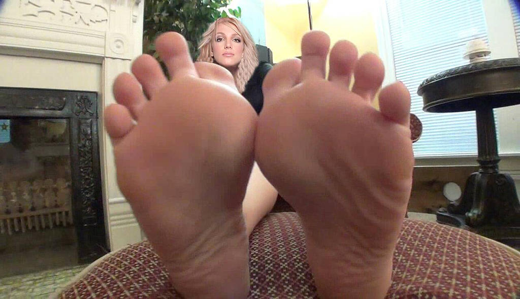 Consider, that britney speers foot fetish think