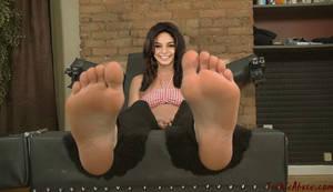 Vanessa Hudgens soles