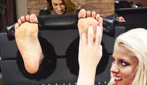 Nia Jax tickled by Alexa Bliss