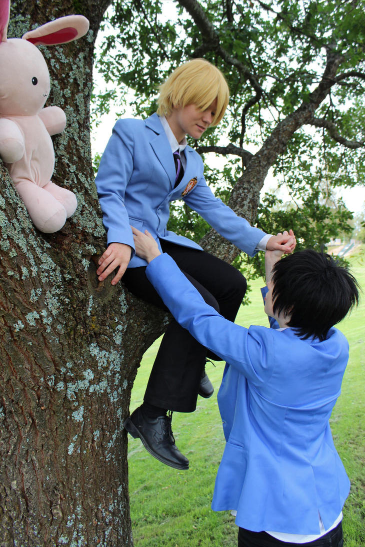 Ouran - I'll catch you by Hypernobility