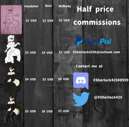 Tabla de comisiones by XSherlockholmes420X