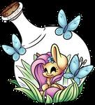 Fluttershy Bottle