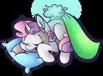 Sleeping Sweetie Belle