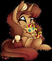 [YCH] Plushie Hug by CutePencilCase