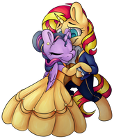 SunLight: Beauty and Beast Without BG by CutePencilCase