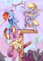 Pegasi are being Loud! by CutePencilCase