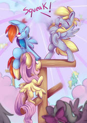 Pegasi are being Loud!