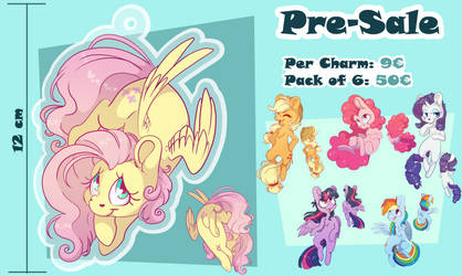 Pre-Sale Charms by CutePencilCase
