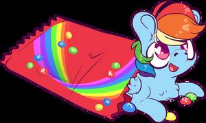 Skittles Rainbow Dash
