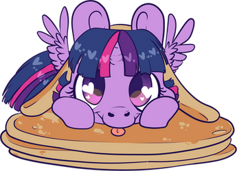 Pancake Twilight by CutePencilCase
