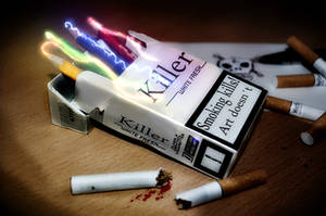 Smoking kills - Art doesn't by NokamFTR