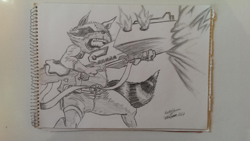 Star Lord And Rocket Raccoon By Timothygreenii On Deviantart: Guardians Of The Galaxy Drawing Rocket Raccoon By