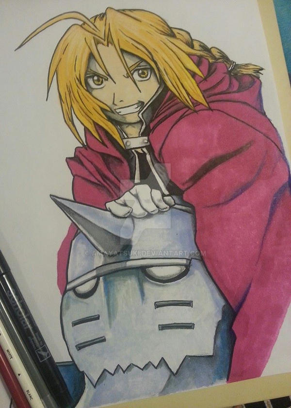 The Elric Brothers. by AmayaTsuki