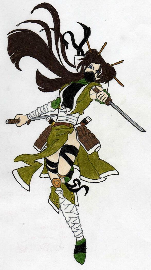 ninja girl by moonbay-wolf