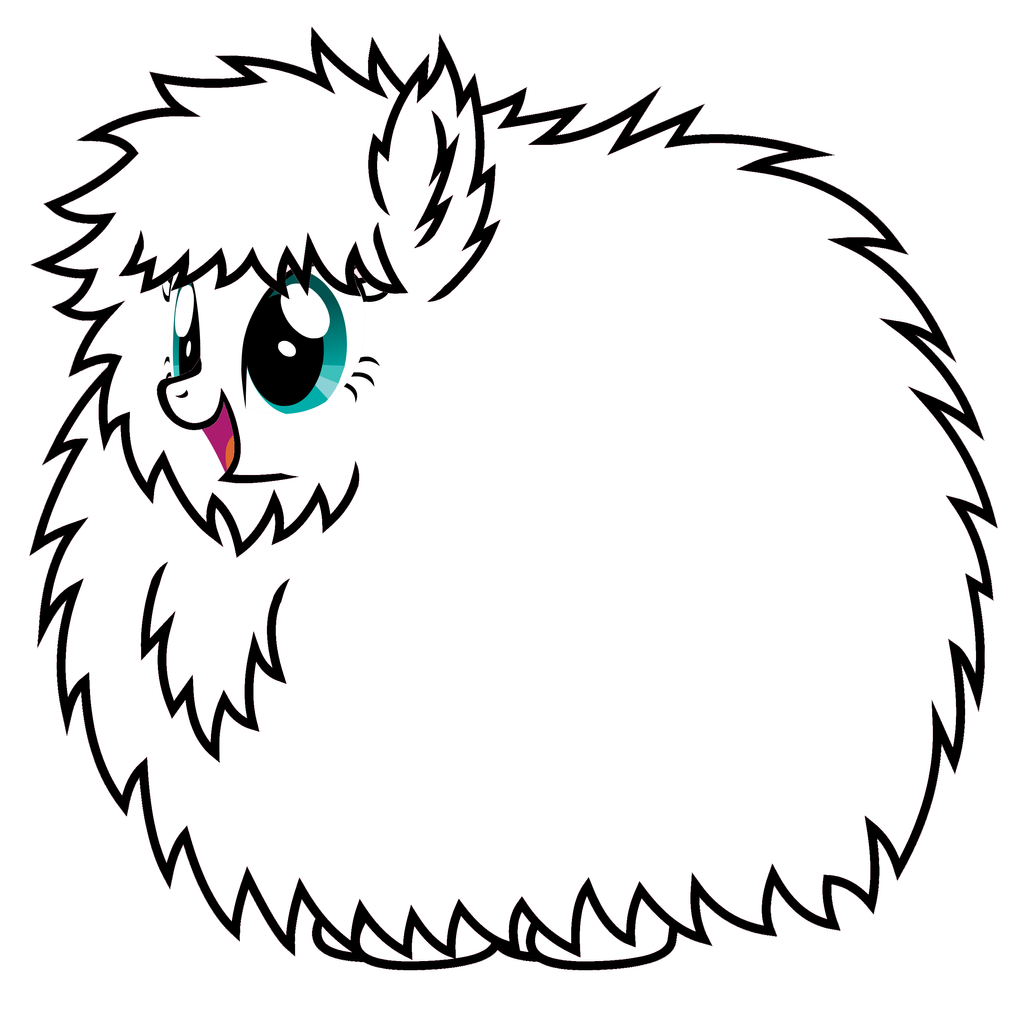 Mlp Fluffle Puff Coloring Pages Fluffle Free Download