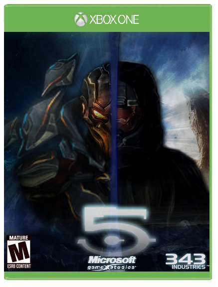 Book Cover Pictures Xbox One ~ Halo xbox one cover art by bronyoftheworld on deviantart