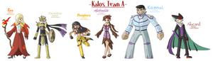 Pokemon Y-Kalos Team A