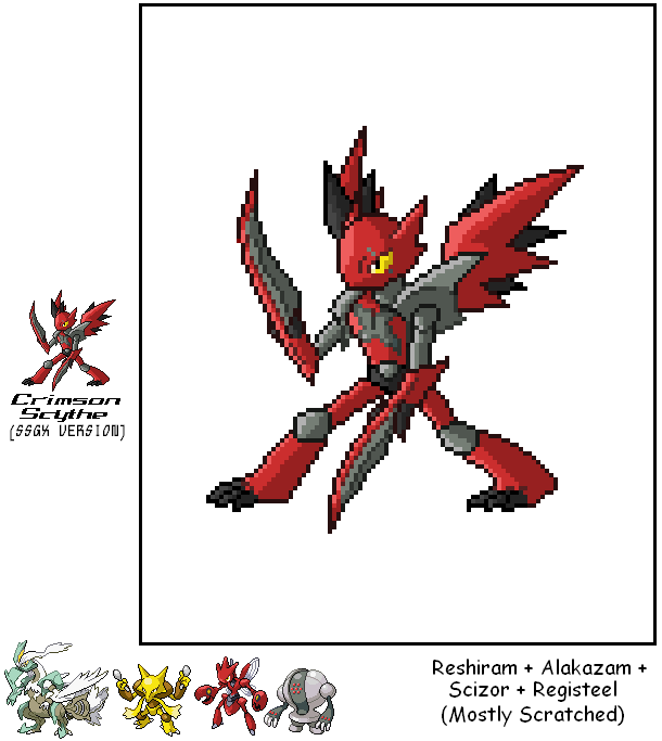 Crimson Scythe (SSGX Version) by SuperSonicGX