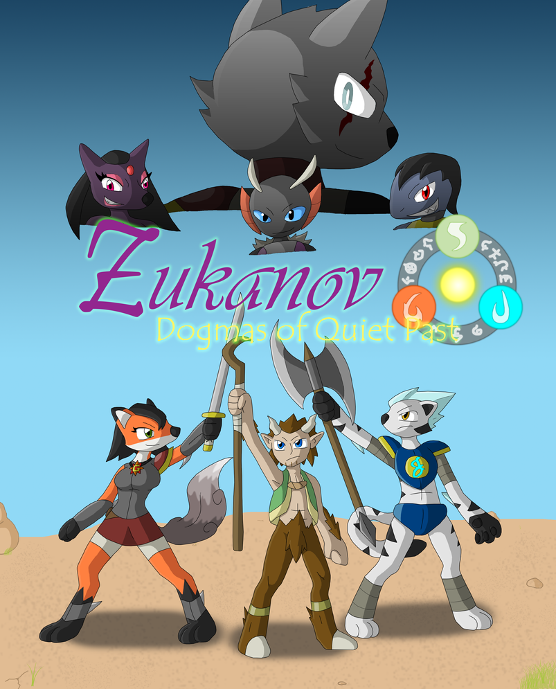 Zukanov Game Cover by SuperSonicGX