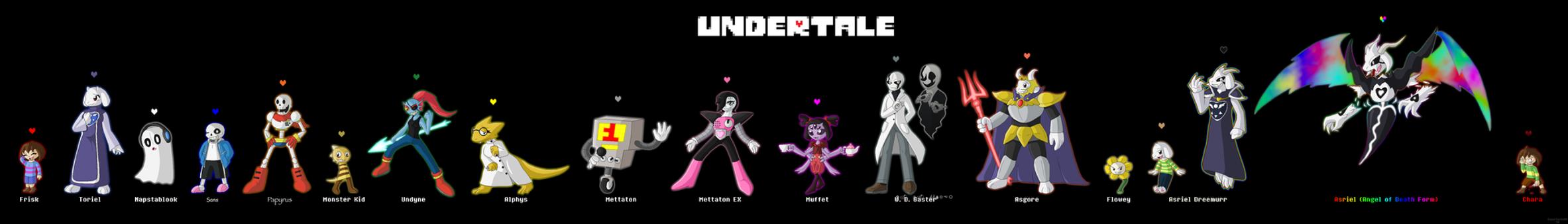 Undertale Doodles (SPOILERS) by SuperSonicGX