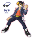 Pokemon Platinum Gijinka Team - Thresh