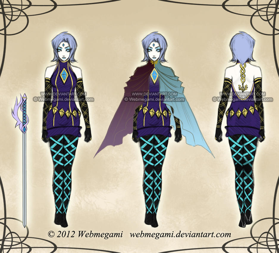 Two Swords - Fi's full references by Webmegami