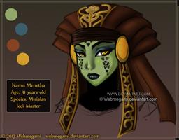 SW chara design: Menetha by Webmegami