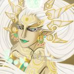 OC Portrait - Great fairy of Light by Webmegami