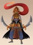 Gibdo Warrior Princess
