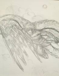 Sky Guy by warriorbirdy