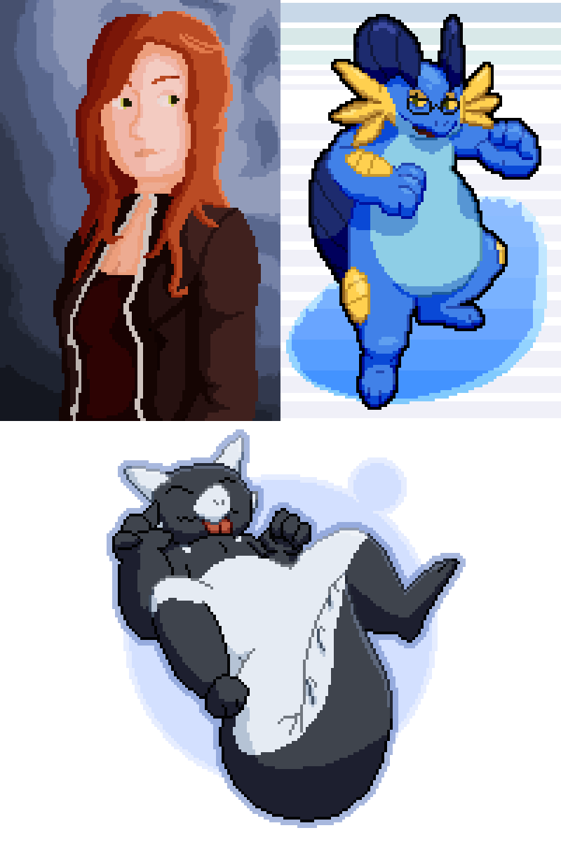 Tumblr Pixel Art Requests Pt. 4 by TheRetroArtist