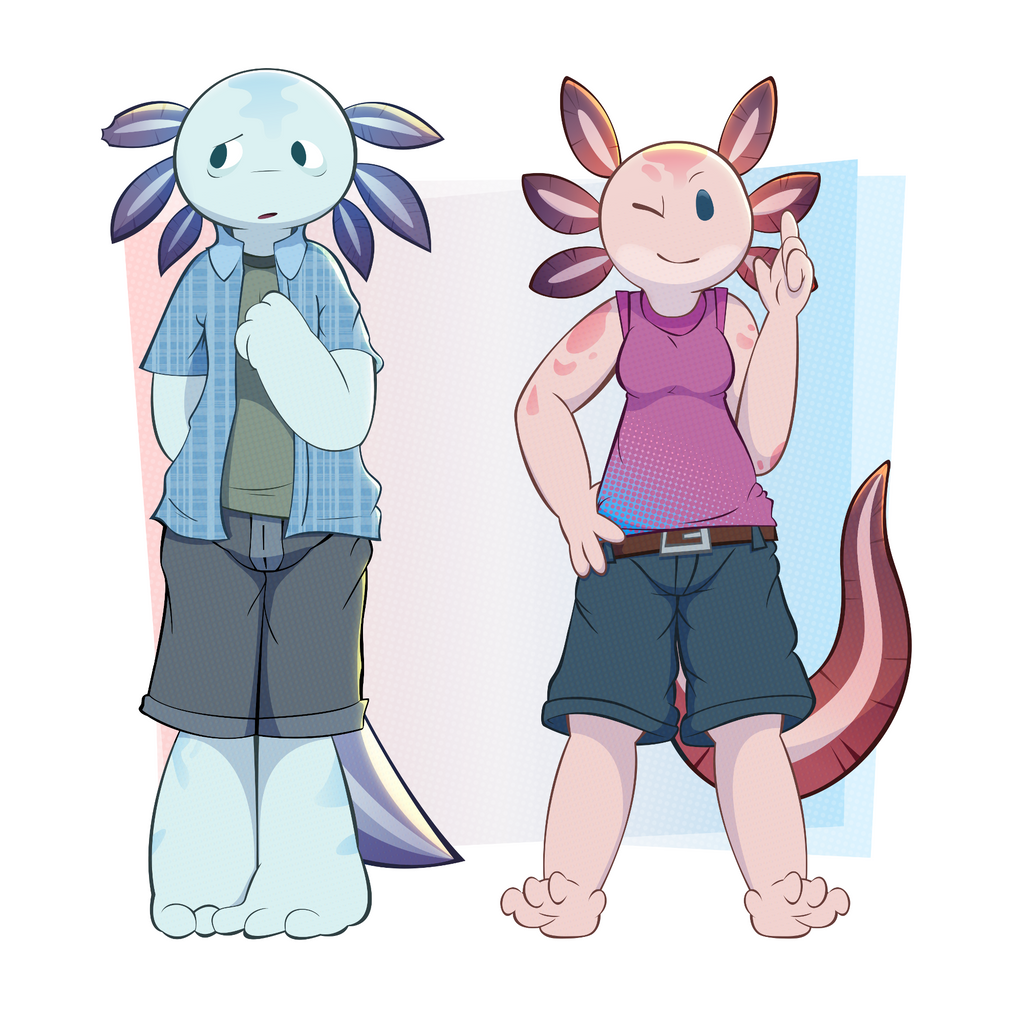 The siblings by TheRetroArtist