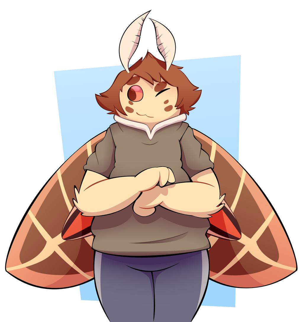 [Gift Art] Moth friendo by TheRetroArtist