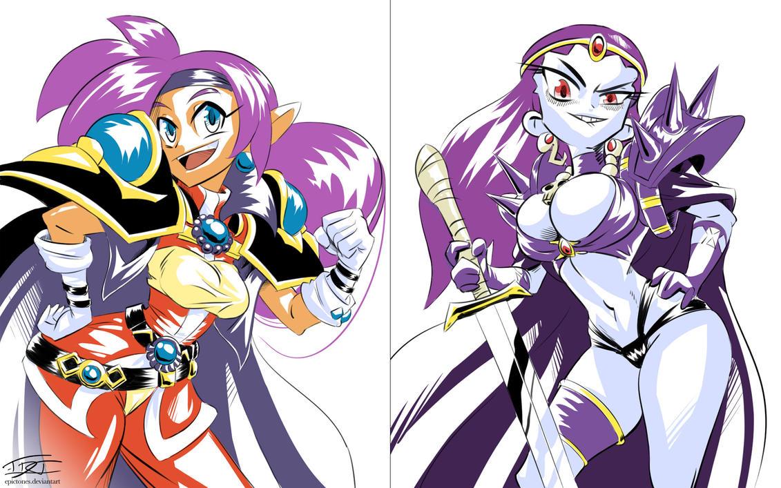 Shantae Slayers Costumes by EpicTones