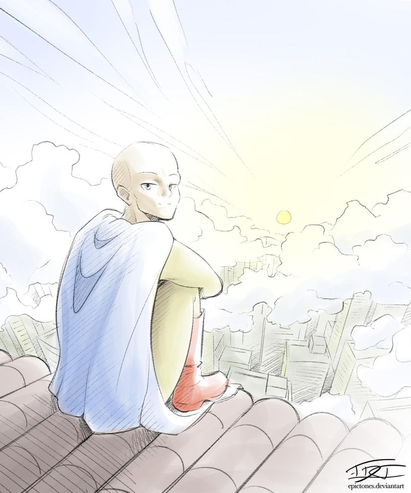 All Star One Punch Man (Comm'd) by EpicTones