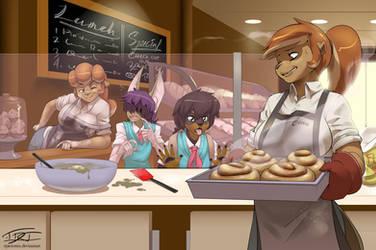 Beaver Bakery (Comm'd) by EpicTones