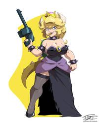 Forbidden Powerup: Bowsette