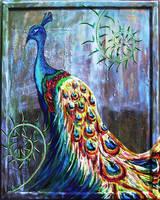 Peacock by oceanstarr