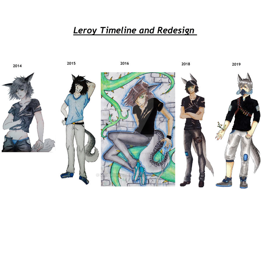 5 years of Leroy by MidoriisMoon