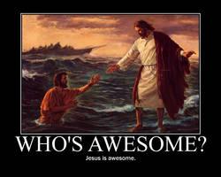 Jesus on Water
