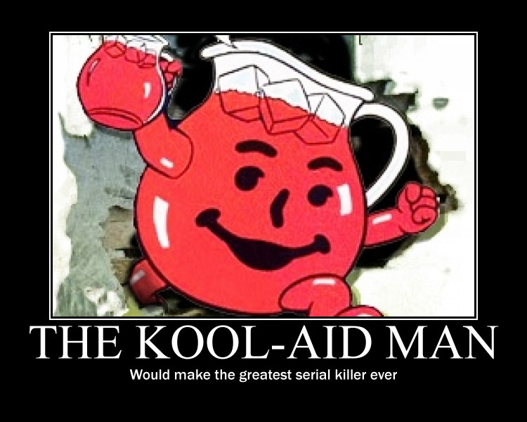 The KoolAid Man by zorpike on DeviantArtKool Aid Breaking Through Wall