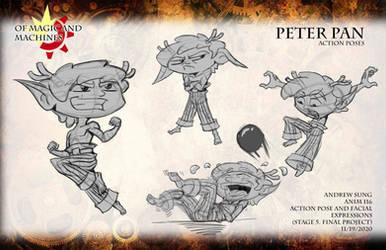 ANIM 116 Peterpan action pose