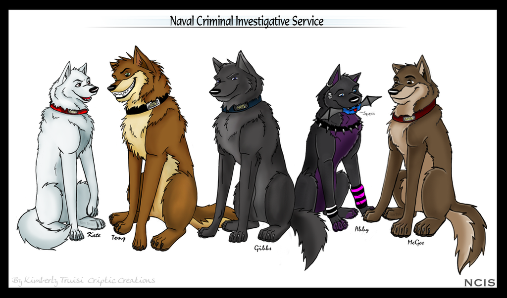 Canine ncis by lunarcheza on deviantart