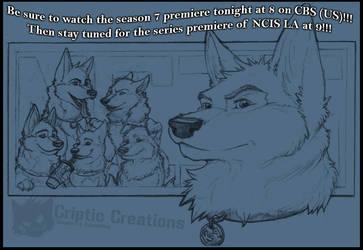 K9 NCIS - Watch Tonight by LunarCheza