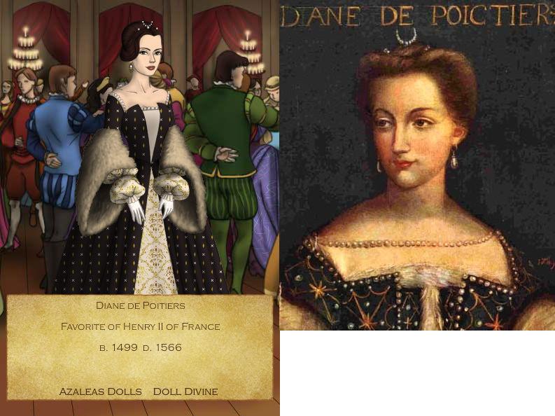 Diane de Poitiers by GingerLass0731